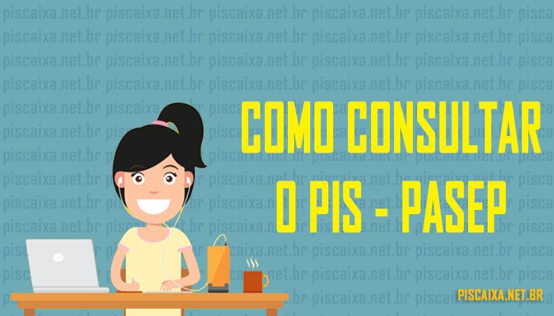 Como consultar PIS Pasep