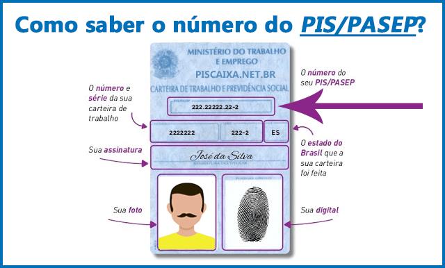 Como saber o número do PIS?