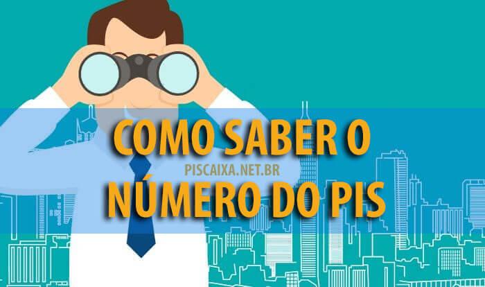 Como saber o número do PIS e Pasep